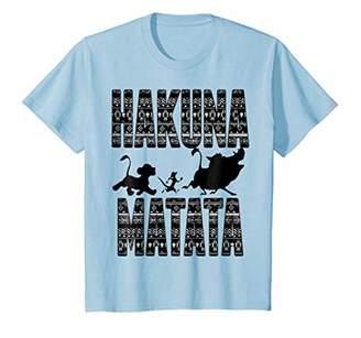 Disney Lion King Hakuna Matata Graphic T-Shirt