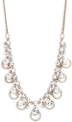 Givenchy Large Crystal Frontal Necklace