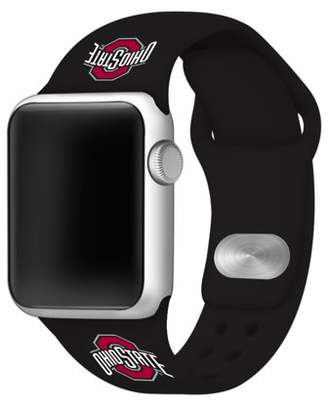 Affinity Bands Ohio State Buckeyes 38mm Silicone Sport Band fits Apple Watch - BAND ONLY