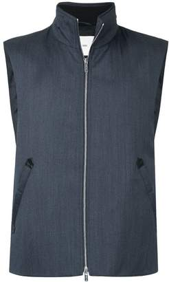 Cerruti zipped gilet jacket