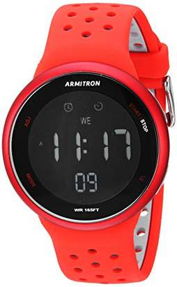 Armitron Sport Men's Quartz Sport Watch with Silicone Strap