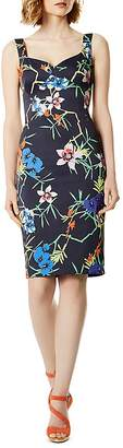 Karen Millen Botanical Print Sheath Dress