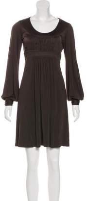 Michael Kors Long Sleeve Shift Dress