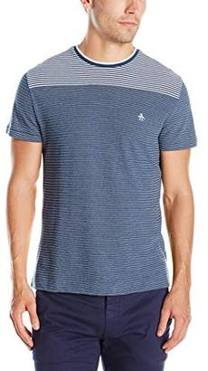 Original Penguin Men's Striped Yoke Short Sleeve T-Shirt