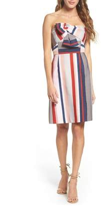 Sam Edelman Stripe Strapless Dress