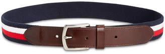 Tommy Hilfiger Men's Stretch Embroidered Webbing Belt