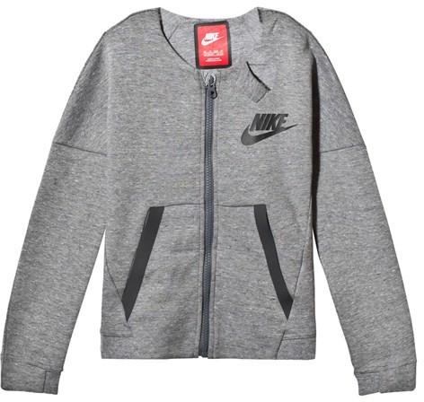 NIKE Grey Sportswear Tech Fleece Jacket