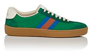 Gucci Women's Canvas & Suede Sneakers - Green