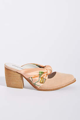 Jeffrey Campbell Cyrus Scarf Bow Mules