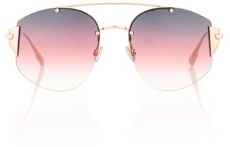 Christian Dior Sunglasses DiorStronger aviator sunglasses