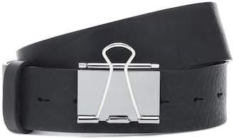 Vetements Leather belt