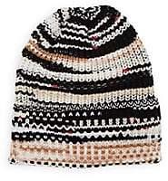 Missoni Women's Ribbed Wool-Blend Beanie