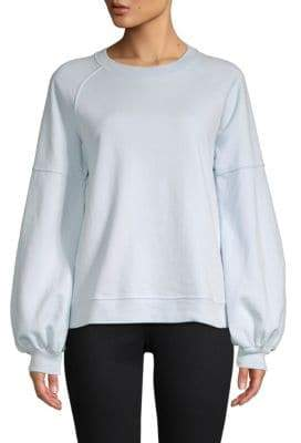 Saks Fifth Avenue Balloon-Sleeve Sweatshirt