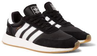 adidas I-5923 Suede-Trimmed Neoprene Sneakers - Men - Black