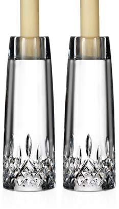 "Waterford Lismore Encore 7"" Candlesticks, Set of 2"