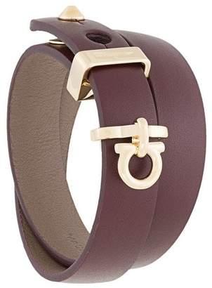 Salvatore Ferragamo Gancini wrap bracelet