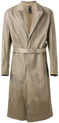 MACKINTOSH Alyx x belted trench coat
