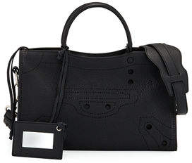 Balenciaga Blackout City Small AJ Tote Bag