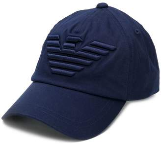 Emporio Armani logo baseball cap