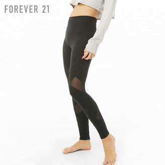 ec1f3d39d24a4 Forever 21 (フォーエバー 21) - Forever 21 メッシュクロススポーツレギンス
