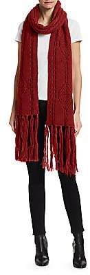 Isabel Marant Women's Blow Cable Fringe Scarf