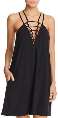 Gottex Profile by Casablanca Knotted Front Dress Swim Cover-Up