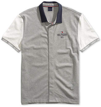 Tommy Hilfiger Adaptive Men Carl Polo Shirt with Magnetic Buttons
