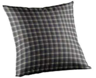 Patch Magic TPW005R Blue Black Plaid, Fabric Toss Pillow 16 x 16 inch