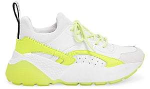Stella McCartney Women's Eclypse Neon Dad Sneakers