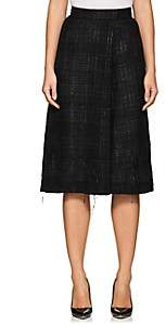 Thom Browne WOMEN'S WOOL-BLEND TWEED SKORT