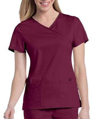 Landau Uniforms Urbane by Landau Women's Sophie Crossover Scrub Tunic Top
