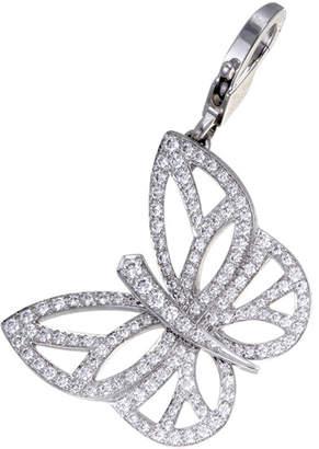 Van Cleef & Arpels Heritage Certified 18K Diamond Pendant