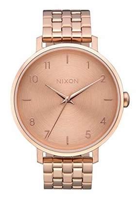 Nixon Women's 'Arrow' Quartz Metal and Stainless Steel Watch