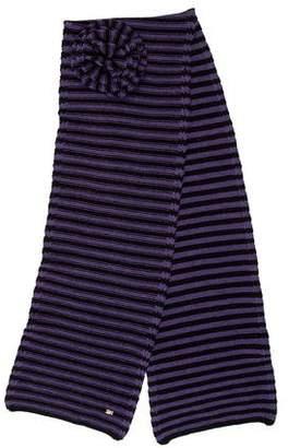Sonia Rykiel Striped Knit Scarf