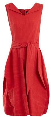 Vivienne Westwood Lotus tie-waist cotton dress