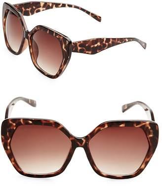 Fantas-Eyes FANTAS EYES Women's 58MM Oversized Sunglasses