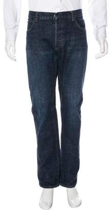 Balmain Five-Pocket Straight-Leg Jeans