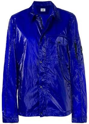 C.P. Company glossy shirt jacket