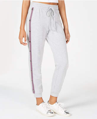 Material Girl Juniors' Snap-Side Jogger Pants