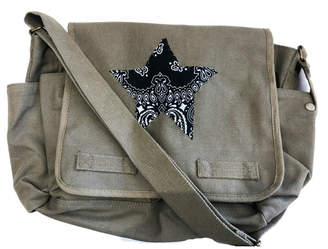Marcia Made it Large Canvas Messenger Bag