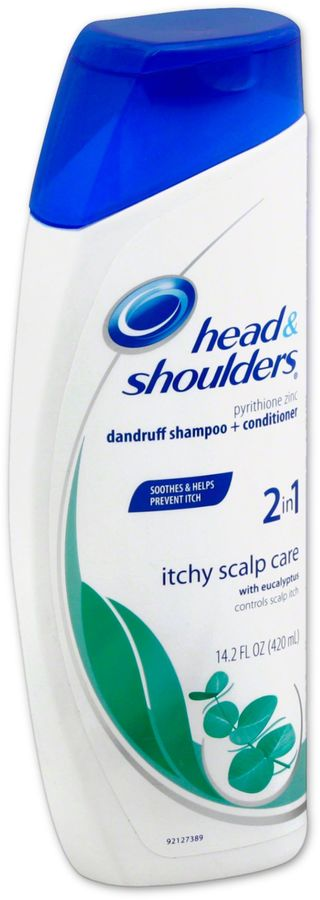 Head and Shoulders® 13.5 oz. 2-in-1 Itchy Scalp Dandruff Shampoo Conditioner with Eucalyptus