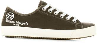 Maison Margiela embroidered logo tabi sneakers