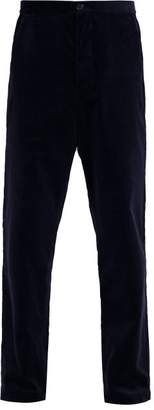 Oliver Spencer Cotton Corduroy Trousers - Mens - Navy