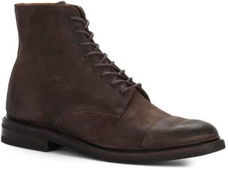 Frye Seth Cap Toe Oiled Suede Boots