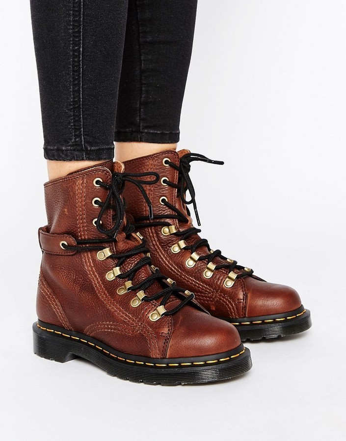 Dr. Martens Dr Martens Coraline Chunky Lace Up Hiker Boots