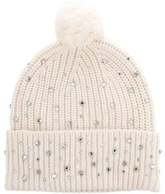 Markus Lupfer Embellished Wool Beanie
