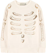 Stella McCartney Trompe-l'ナ妬l organic cotton sweatshirt
