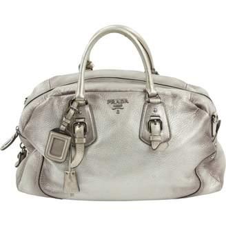 Prada Silver Handbags on Sale - ShopStyle ab5cc25bdaa13