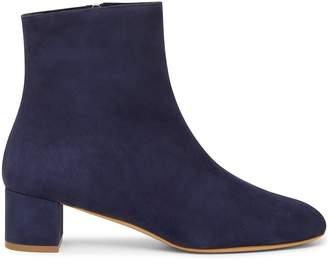 Mansur Gavriel Shearling 40mm Ankle Boot - Blu