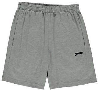 Slazenger Kids Boys Jersey Shorts Junior Pants Trousers Bottoms Drawstring